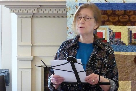 Poet Donna Freeman