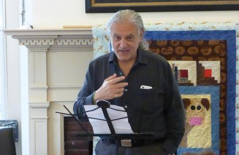 Poet Larry Krips