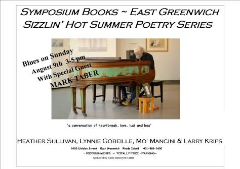 Sizzlin' Hot Summer Poetry Series August 9